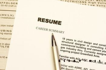 Blank Resume Forms - Free Printable Resume Templates