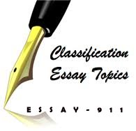 Find classification and division essay ideas