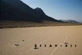Sailing Stones of Death Valley
